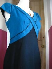 NEXT shift DRESS UK12 office smart retro 1940s empire lindyhop WWII shift
