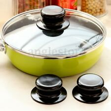 2X Universal Pot Pan Knobs Saucepan Lid Hand Grip Cover Handles Kitchen Cookware