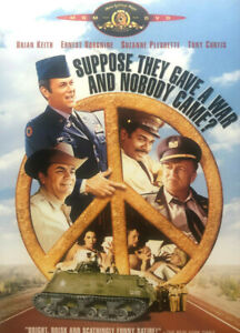 Suppose they gave a war and nobody came DVD - REGION 1 - War Comedy