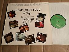 """MIKE OLDFIELD - LIVE - EXTRACT FROM """"TUBULAR BELLS"""" - 2-TRACK-12""""-MAXI SINGLE"""