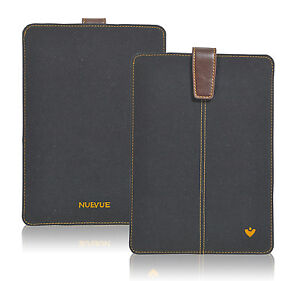 iPad mini 5 Case Black Cotton Twill Screen Cleaning Sanitizing NueVue Sleeve