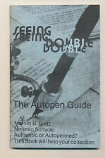 71 - SEEING DOUBLE - THE AUTOPEN GUIDE, Marvin B. Blatt & Norman Schwa. 1986.