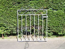 Wrought iron flat top gate for 3 ft opening fully galvanized stands 3 ft tall lh