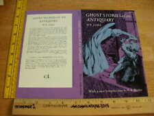 "Ghost Stories of an Antiquary MR James Dover promo 8.5x11"" card VINTAGE"