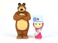 Masha and the Bear bath toys, Masha Doctor 2psc Russian cartoon characters