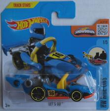 Hot Wheels Let´s Go blau TREASURE HUNT T-Hunt Neu/OVP Kart HW Ride-Ons Mattel