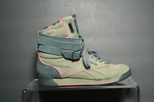 Reebok Alicia Keys Dubble Bubble 2012 Women 7.5 Multi Green Suede Athletic  Hip 48d457cd9