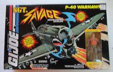GI Joe Sgt Savage P-40 WARHAWK w/Special Edition Sgt Savage - MIB! 1994