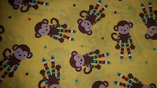 Brand New Monkey Print Fabric