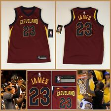 Kids LEBRON JAMES Authentic Nike Swingman Cleveland Cavaliers YOUTH Jersey  M  70 5097eb593