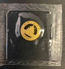 2009 China Gold 1/20oz Panda 20 Yuan Original Mint Sealed,Brilliant Uncirculated