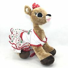 Build A Bear BABW Clarice Rudolph the Rednose Reindeer Plush With Outfit (#22)