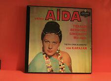 VERDI - AIDA - TEBALDI BERGONZI SIMIONATO - OPERA 3 LP BOXSET WITH BOOK -R