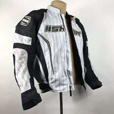 Shift ZZZ Avenger Pinstripe Motorcycle Jacket Armour and Liner Size Medium