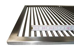 Edelstahl Grillrost 60,5 x 44,5 WEBER SPIRIT E 300 Serie 9 mm licht. Stababstand