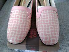 Orla Kiely Clark's, Bella Floral Shoes, in pink, UK size 5.5, EUR 39, Retro