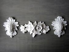 Shabby Chic DECO French pays Moulage Set Meubles/Fire Surround