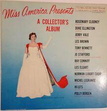 Miss America Presents A Collector's Album vinyl LP 1961 Ex+ Bennett Ellington