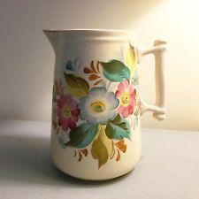 1.3 litre carafe ronde en verre eau jus pitcher verrerie coulage boissons squash