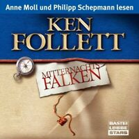 KEN FOLLETT - MITTERNACHTSFALKEN 5 CD NEW FOLLETT,KEN