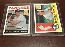 1996 Topps Commemorative Card #10 MICKEY MANTLE (1960 Topps) Yankees HOF