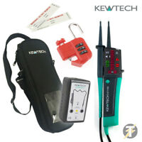 Kewtech KEWISO2 Isolation Kit with KT1780 Voltage Tester Proving Unit and more