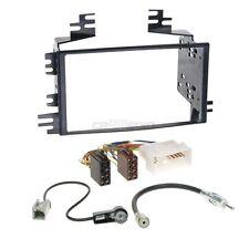 Hyundai Accent 06-11 2-DIN Autoradio Einbauset Adapter Kabel Radioblende