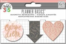 The Happy Planner - PLANNER BASICS Magnetic BOOKMARKS 3pcs - ROSE GOLD