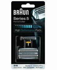 BRAUN Series 5 8000 FOIL AND CUTTER Replacement 51S Activator ContourPro Shaver