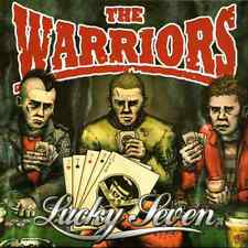 THE WARRIORS - LUCKY SEVEN LP - (brand new LP in red vinyl) - STEP LP 209
