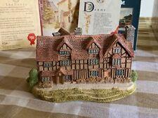 Lilliput Lane William Shakespeares Birthplace w box &deeds. Excellent Condition