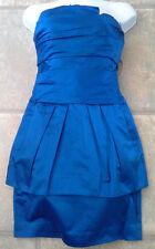 (NWT) BCBG Maxazaria Size 2 Larkspur Blue Strapless Party/Prom Bustier Dress