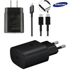 Original Samsung Note10 Plus 25W Super Charger PD Dual USB Type-C Cable For S20