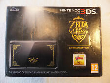 NINTENDO 3DS - ZELDA 25TH ANNIVERSARY LIMITED EDITION (BOXED)