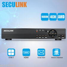 4CH 1080N AHD DVR Video Recorder Network H.264 HDMI P2P CCTV Security System UK