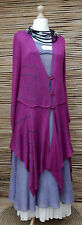 ZUZA BART*DESIGN EXCLUSIVE BEAUTIFUL COTTON CARDIGAN/COAT*DEEP ORCHID*Size L-XL
