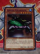 Carte YU GI OH TORTUE CATAPULTE TITRE BLEU DL18-FR001