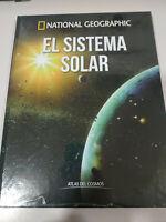 El Sistema Solar Atlas del Cosmos National Geographic Libro Tapa Dura Nuevo