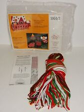 The Creative Circle 1983 Candy Cane Lane Embroidery Kit #2602