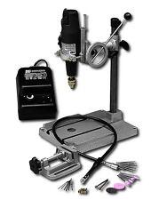 Mini-Bohrmaschine HOBBY DRILL mit Zubehör 0800V1 Giga-Set