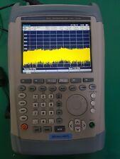 Rohde Schwarz Fsh13 Handheld Spectrum Analyzer 136ghz