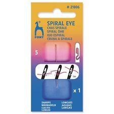 1x Hand Sewing Thread Needles Spiral Eye Sharps 5mm Sewing Craft Tool Hobby