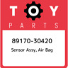 89170-30420 Toyota Sensor assy, air bag 8917030420, New Genuine OEM Part