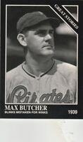 FREE SHIPPING-MINT-1993 Conlon COLLECTION #756 MAX BUTCHER-1939