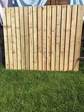 Feather Edge Fence Panels 6x5