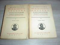 Vie de Benvenuto Cellini écrite par lui-même, en 2 tomes  Benvenuto Cellini