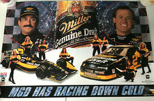"Bobby Rahal Miller Beer Racing Team Girls MS Poster 30 x 20"""