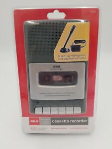 RCA Cassette Recorder RP3504 - Stand Up Microphone + Adapter Brand New Sealed