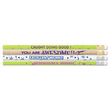 Moon Products Award Woodcase Pencil Motivational Assortment Hb #2 144/Box 8207