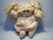Vintage 80's Blonde Girls Doll Toy
